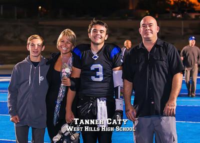 West Hills Football Senior Night