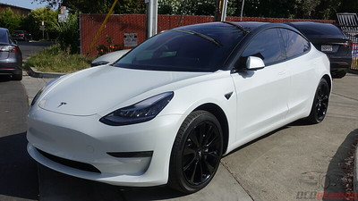 Tesla Model 3 - Pearl White Multi-Coat - Oreo Style