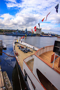 Scotland:  Royal Yacht Britannia