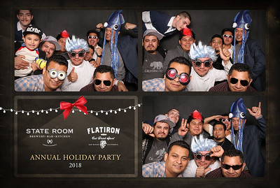 2018 State Room and FlatIron Holiday