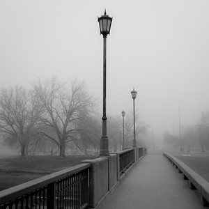 Fog~Riverside (Wichita) February 2017