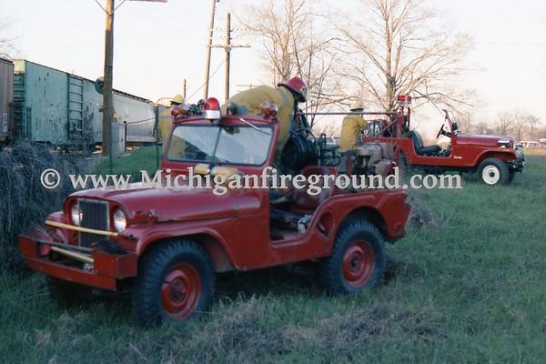 05/1978 - Meridian Twp grass fires