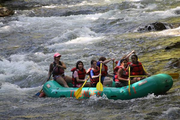 Fall Break Rafting Trip
