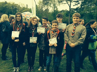Chief Scouts Awards 2014
