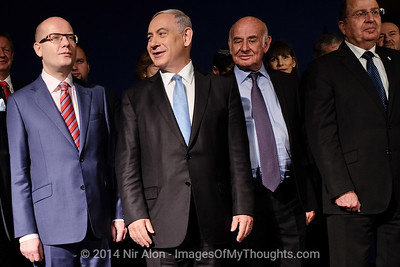 20141125 PM Sobotka Heads Czech Delegation to Israel