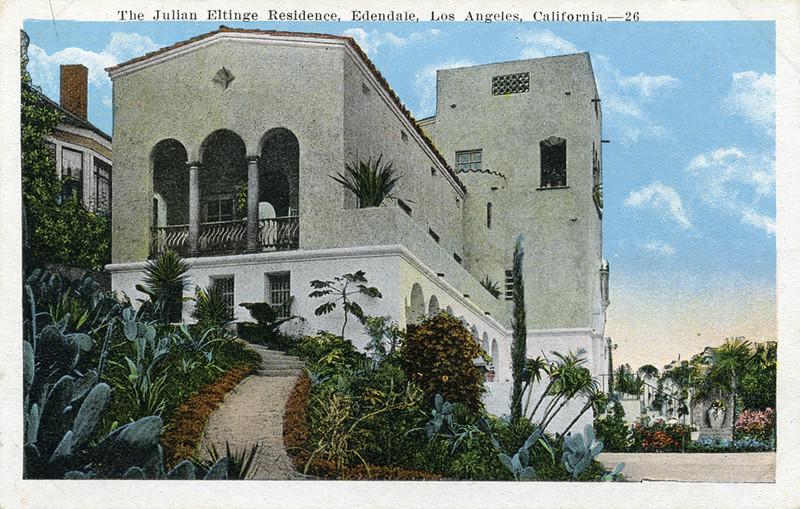 Julian Eltinge Residence