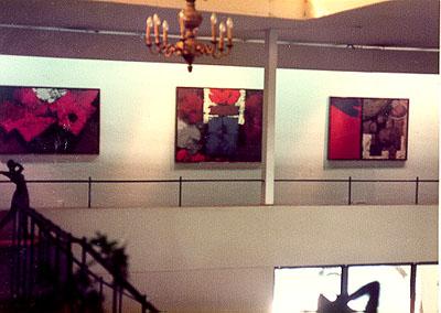 """Exhibition-Guadalajara, Mexico, Galeria Municipal """"Torres Bodet"""" Oct.1984"""