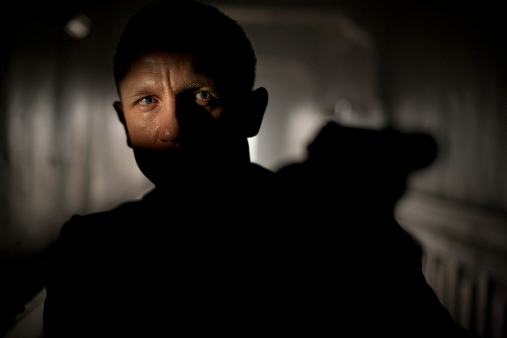 ". Lethal and Daniel Craig stars as James Bond ""Skyfall.\"" Provided by Sony Pictures"