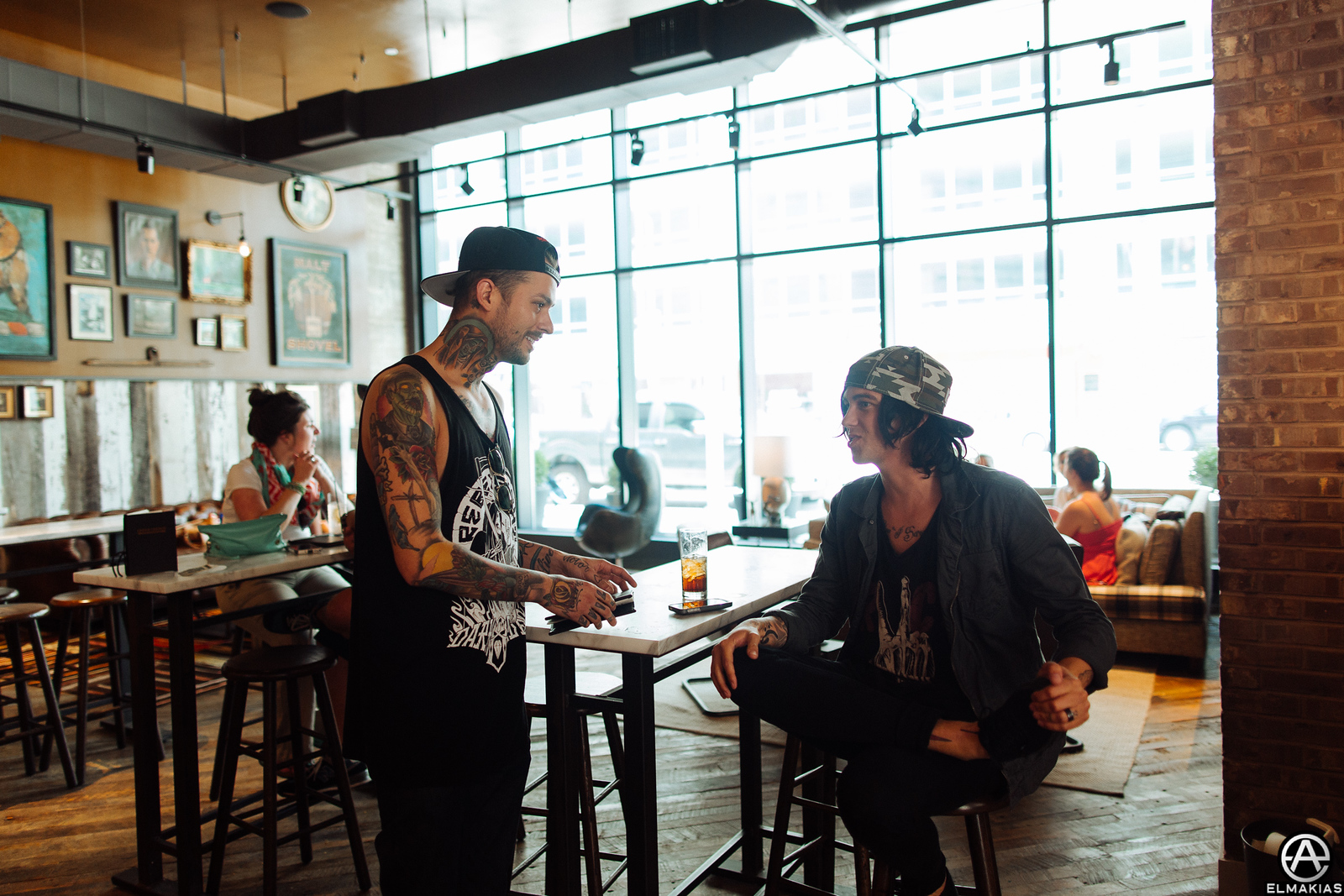 Mike Fuentes of Pierce The Veil and Kellin Quinn of Sleeping With Sirens