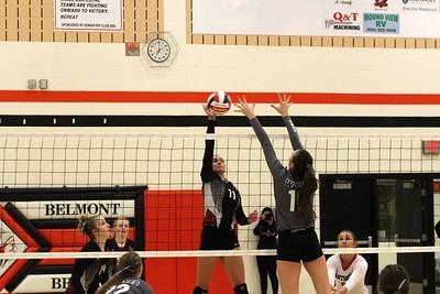 Iowa-Grant @ River Ridge Volleyball 10-25-18