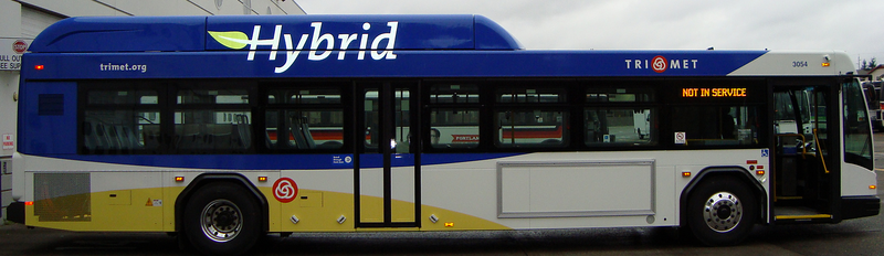 Hybrid Bus Re-introduced