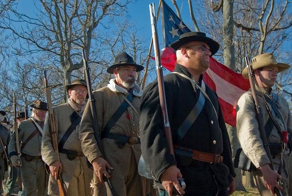 Civil War Reenactment: Prairie Grove Battlefield 2008