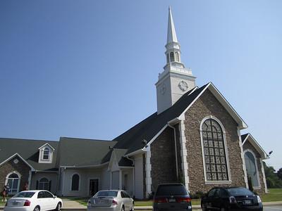 Oak HIll Baptist Church @ Olde Salem, Cherokee Courts and Alexander MIll