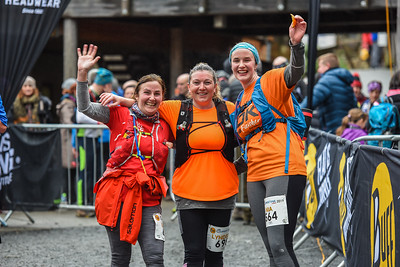 Winter Trail Marathon Wales - Finish Pictures Times afer 2 hours 20 minutes