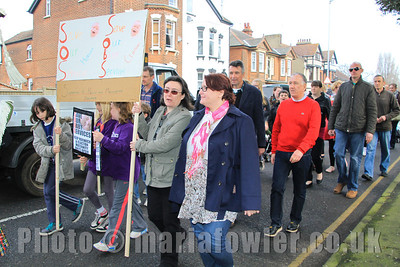 'Save Our Baby Services' Protest March