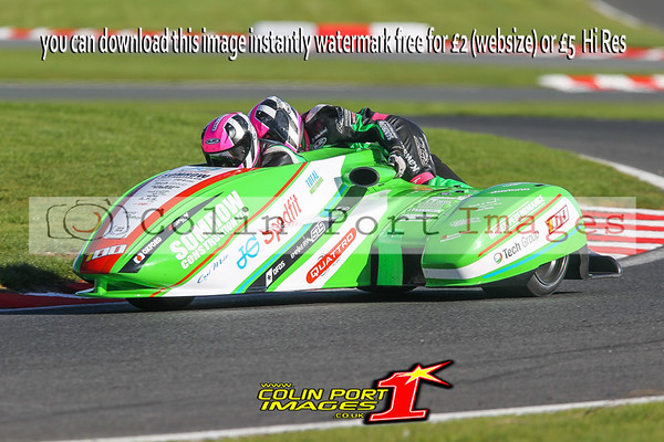 Sidecars Open & FSRA Post Classic Wirral 100 Oulton Park 2017