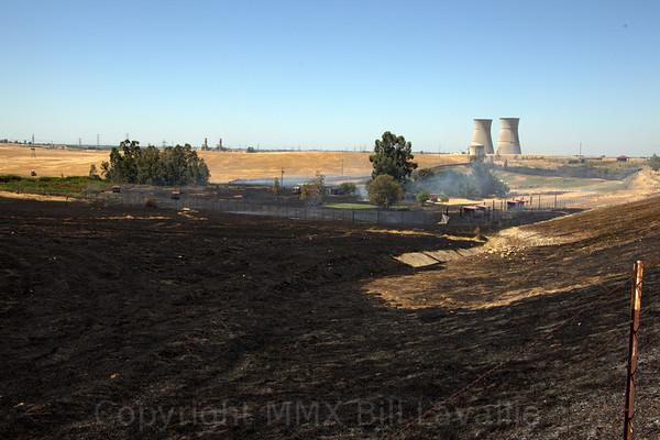 08222010 Fire at Rancho Seco Park Sunday