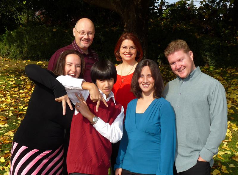 Thanksgiving Family Group Shot