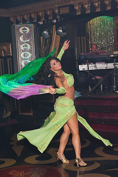 Cristina at the Aladdin