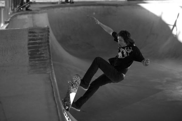 Skateboarders in Flight...