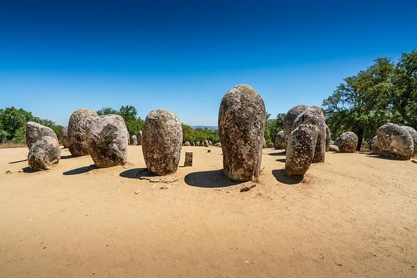 Megalithic Sites Near Évora