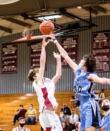 3/12/21 Gibault boys basketball vs Mater Dei
