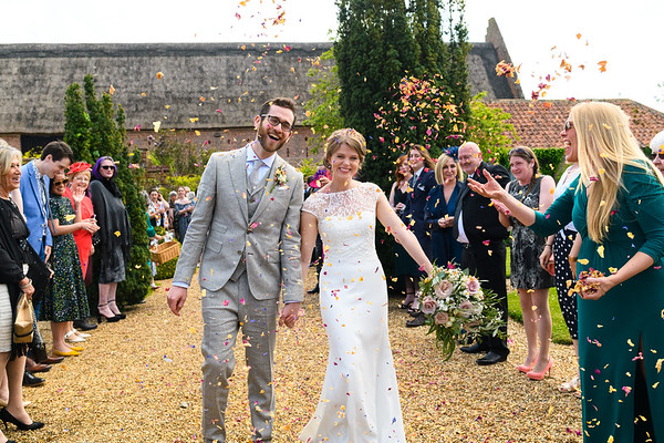 Hales Hall & Great Barn Wedding - Rose & Evan