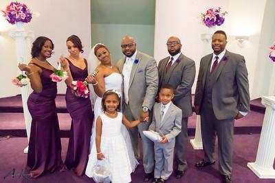 Sylvan & Rachael Hamilton wedding