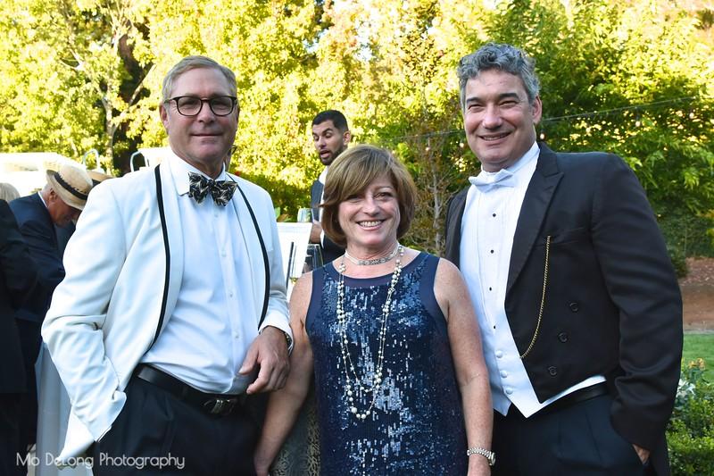 Greg Lyman, Barbara Carbone and Brian McDaniel