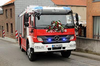 Fahrzeugeinsegnung Löschgruppe Uetterath