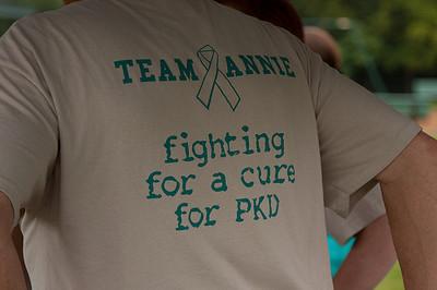 Team Annie tshirts in 2009