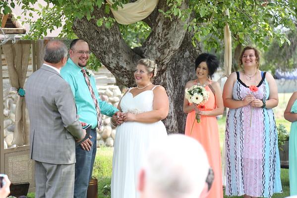 Brittany and David Wedding