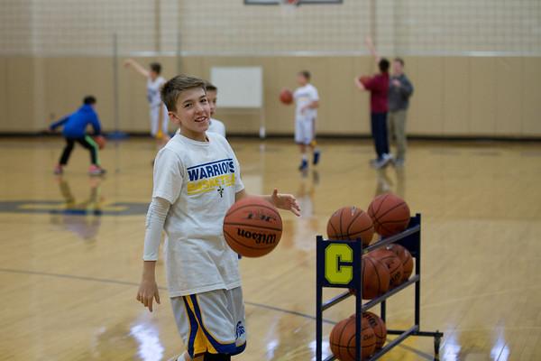 6th Grade CAI Basketball 11-23-13