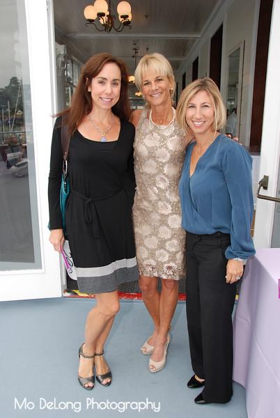 Robin Breuner, Kathleen Woodcock and Alyson Aiello