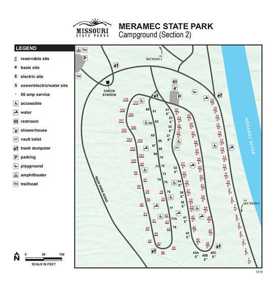 Meramec State Park (Campground Section #2)