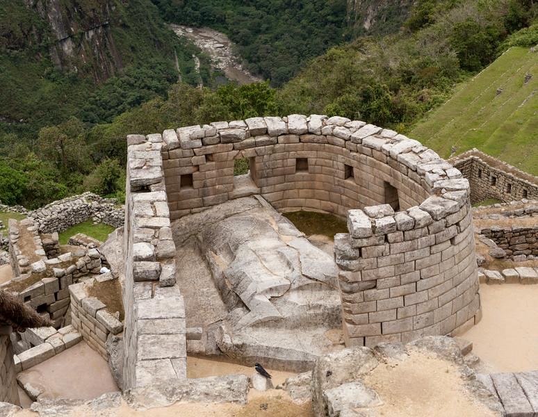 Machu Picchu Temple of the Sun