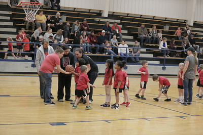 moss vs wetumka basketball kindergarten 1st and 2nd grade
