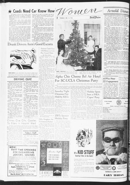 Daily Trojan, Vol. 47, No. 62, December 15, 1955