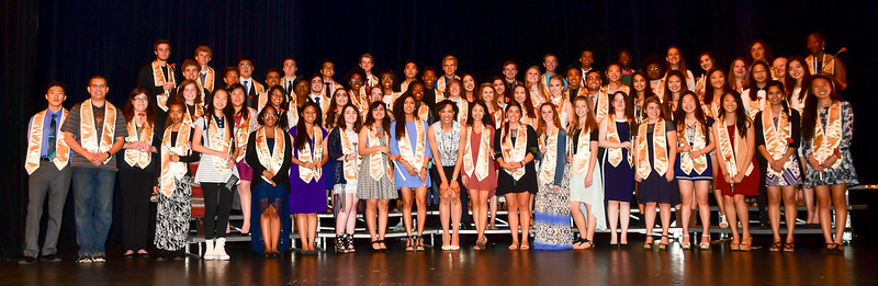 Senior Recognition Ceremony - May 16th 2016