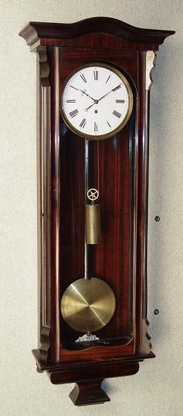 VR-338 - Beidermeier period week-running Viennese 3-lite timepiece