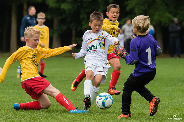 12/08/2017: U9P FC Wetteren B - U9P KVV Laarne-Kalken B