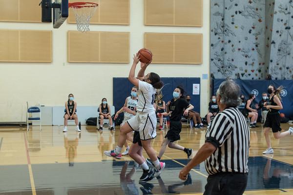 2021 Girls JV2 Basketball vs. Jesuit