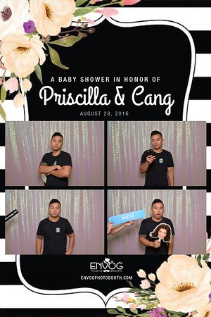 Priscilla & Cang's Baby Shower (prints)