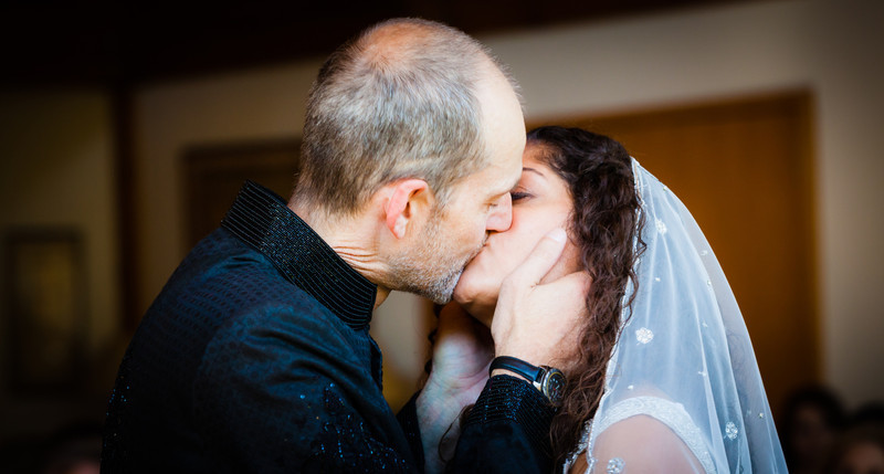 The Kiss - Brian & Leila