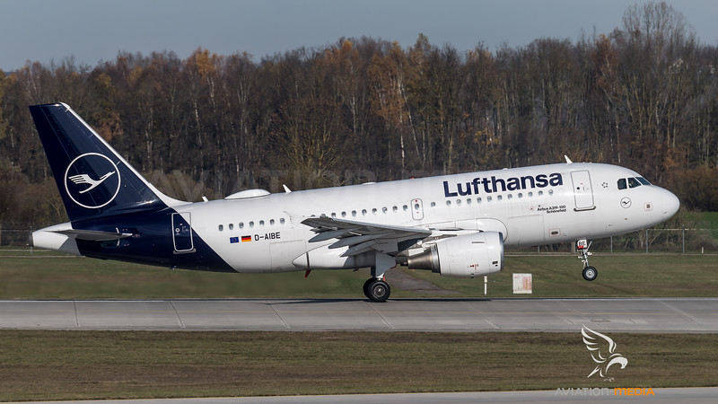 Lufthansa / Airbus A319-112 / D-AIBE