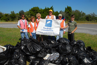 Coastal Georgia / Low Country Surfrider - Adopt-A-Highway Cleanup Highway 80