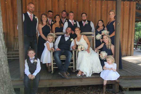 Bridal Party, Tucker's Farmhouse