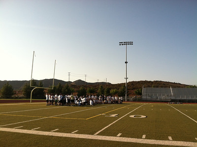 Aug 21, 2012 Marching Band Rehearsal