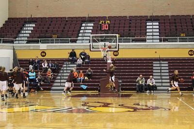 2013-2014 - Women's Basketball  Calvin vs. Hope