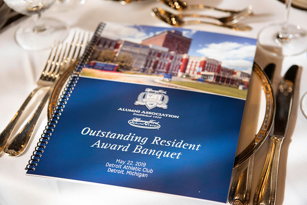 Outstanding Resident Awards 2019